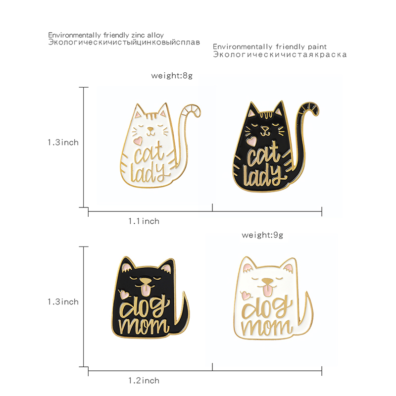 QIHE-JEWELRY-Cartoon-Animal-Dog-and-Cat-Pins-Enamel-pins-Badges-Brooches-for-dog-cat-kitty(2)