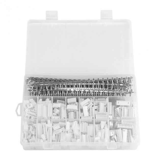1220pcs XH2.54 2p 3p 4p 5 6 7P 8 9pin 2.54mm Pitch Terminal Housing /Pin Header