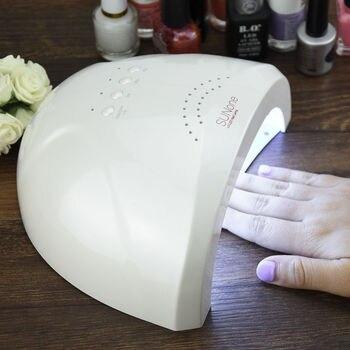 YingJia 48 W SUNONE профессиональный светодиодный УФ лампы для ногтей лак для ногтей Nail УФ-лампа для сушки Корабль из Эстонии склад
