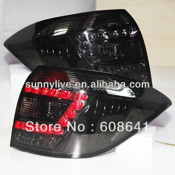 Highlander LED Tail Lamp Smoked Black For TOYOTA 2008-2011 year