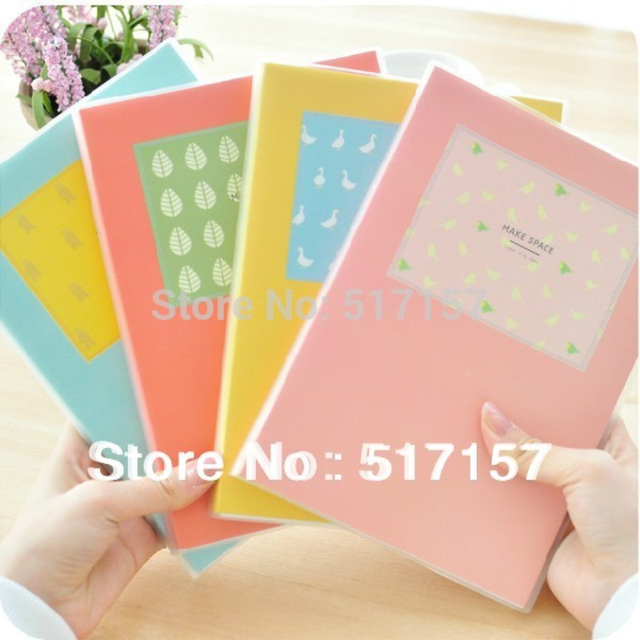 candy colored a5 monthly weekly planner notebook soft cover notepad diary book personal agenda organizer