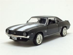 Image 5 - Camaro, 1/36, échelle américaine, modèle de voiture en métal moulé, 1969, échelle, jouet, Collection cadeau danniversaire pour enfants, livraison gratuite