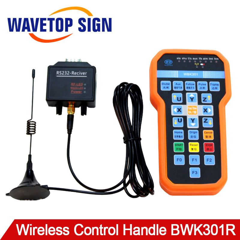 WaveTopSign Ruida Wireless Operating Handle BWK301R for RDC6442G RDC6442S RDC6332MWaveTopSign Ruida Wireless Operating Handle BWK301R for RDC6442G RDC6442S RDC6332M