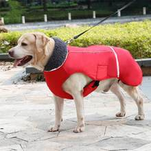TPFOCUS Luxury Pet Dog Dress Clothes Winter Waterproof Outdoor Pet Dog Jacket Reflective Thicken Warm Coat Dog Clothes(China)