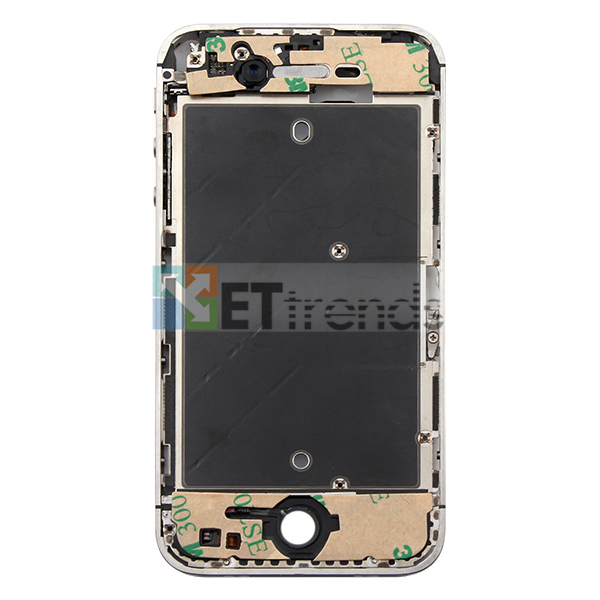 Metal Middle Plate Assembly for iPhone 4S - White  (4).jpg