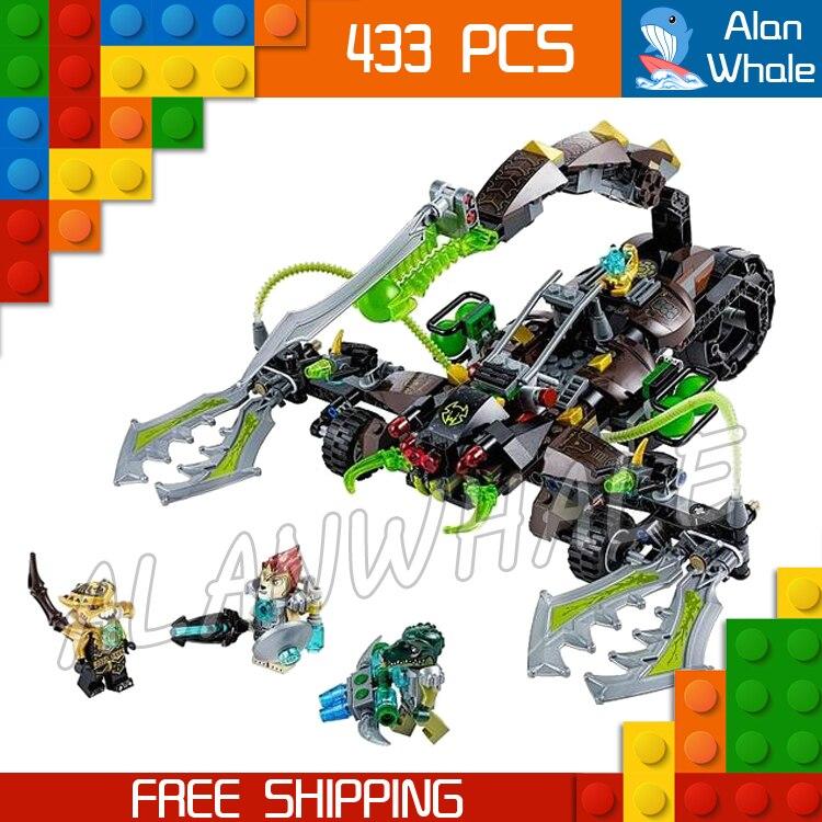 433 pièces Scorm du Scorpion Stinger CHI Bataille Char 10077 Figure Blocs De Construction Assembler Enfants Jouet Compatible avec LegoING
