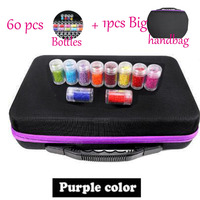 60 Slots Diamond Embroidery Box Diamond Painting Accessory Case Clear plastic Beads Display Storage Boxes Cross Stitch Tools