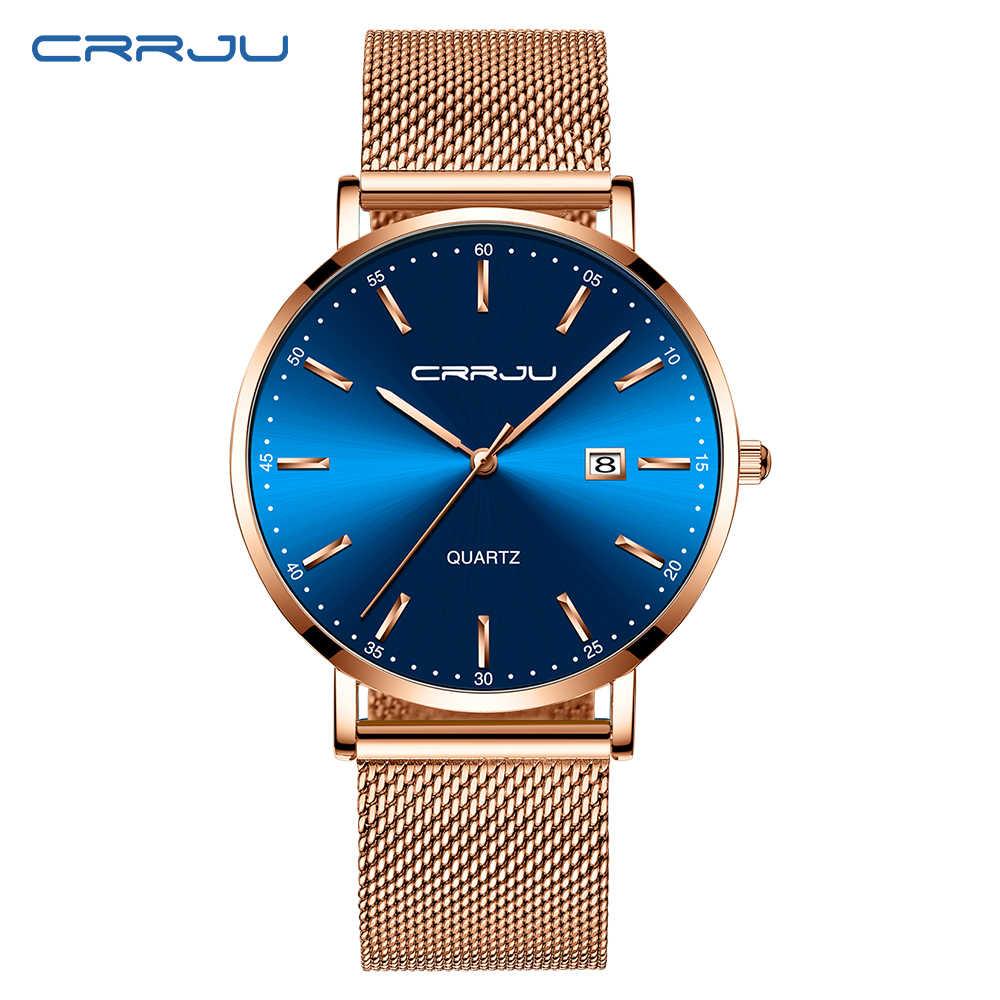 CRRJU Luxus Mode Frau Armband Uhr Frauen Casual Wasserdicht Quarz Damen Kleid Uhren Geschenk liebhaber Uhr relogio feminino