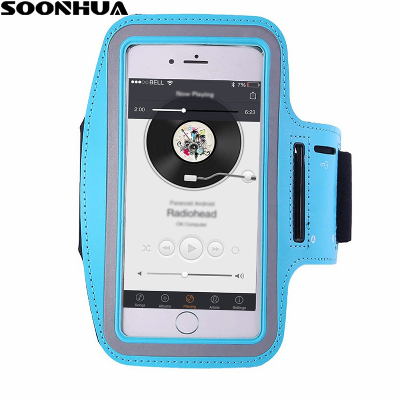 Arm Band For iPhone 6/Plus Running Riding Arm Band Cases  Dirt-resistant Hand Bag Sport Mobile Phone Holder Pouch Belt Cover