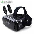 """VR Shinecon Виртуальная Реальность 3D Очки Шлем VR Картонную Коробку для 4.7-6 """"Смартфон 3D Игры Кино + Bluetooth Контроллер/Геймпад"""