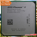 AMD Phenom II  X2 555 CPU Processor  Dual-Core (3.2Ghz/ 6M /80W / 2000GHz) Socket am3 am2+  free shipping 938 pin , sell 550 545