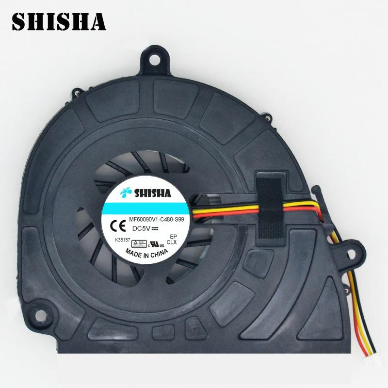 New Shisha 5750 V3-571G original cooler for ACER 5755 5350 5750G CPU cooling fan 5755G V3-571 E1-531G P5WE0 E1-571 laptop fan new for acer aspire s3 s3 391 s3 951 laptop cpu cooling fan