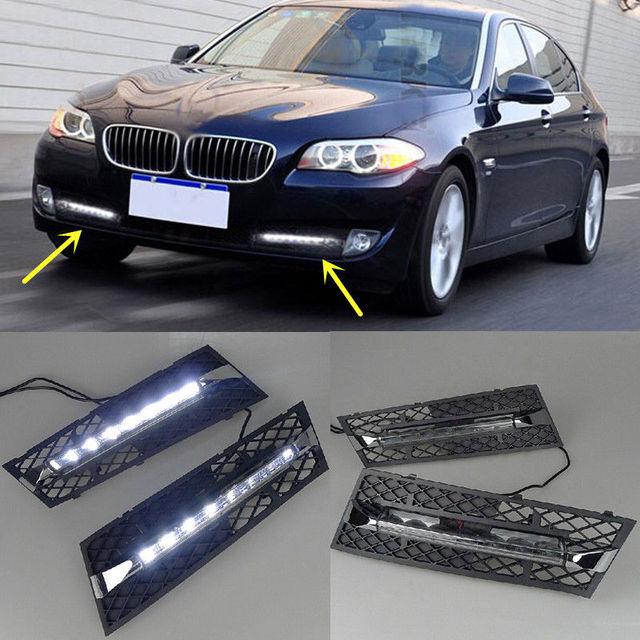 V Car DRL For BMW F F Series I I I I LED - 2010 bmw 530i