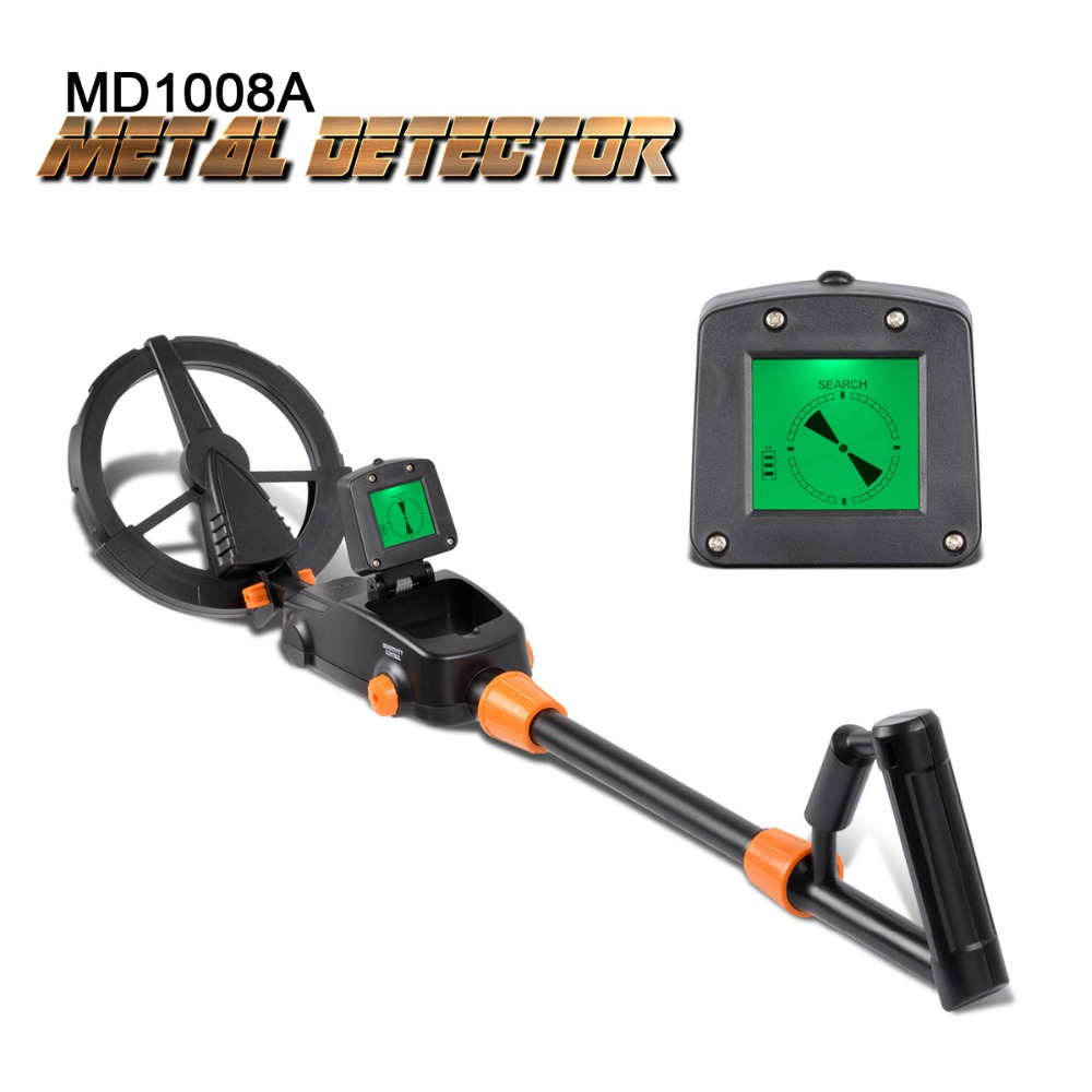 MD-1008A Underground Metal Detector Handheld Kids Gift Toy Treasure Hunter Gold Digger Beach Tracker Tracker MD1008A Waterproof lowest price hot md 3010ii underground metal detector gold digger treasure hunter md3010ii ground metal detector treasure seeker