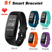 S1 Smart Bracelet Wristband IP67 Waterproof Swimming Heart Rate Tracker Pedometer Call Reminder S2 Smart Watch For Android IOS
