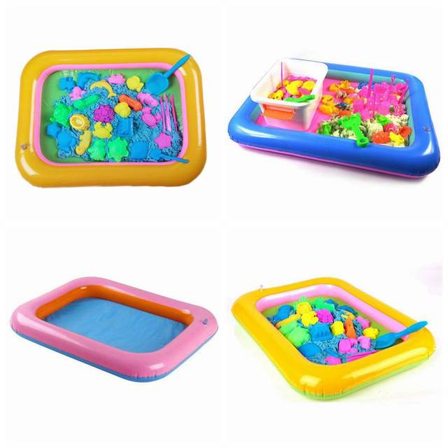 Multifunction Inflatable Sand Tray Inflatable Sandbox For Children