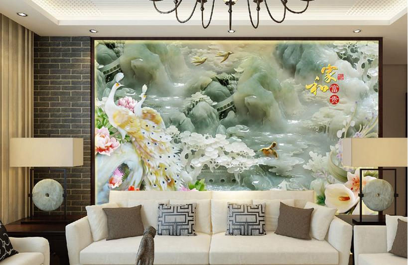aliexpress : buy home decoration custom chinese wallpaper 3d