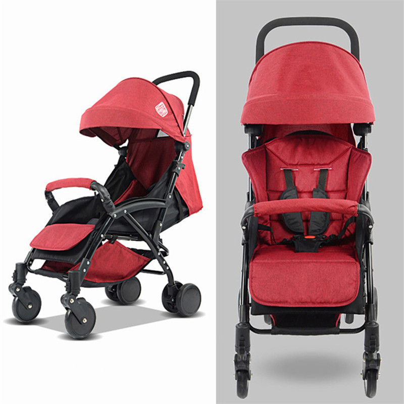 Lightweight Easy Carry Foldable Baby Stroller Mini Size Baby Carriage 3 In 1 Prams For Newborns Free Shipping Russian Federation folding baby stroller lightweight baby prams for newborns high landscape portable baby carriage sitting lying 2 in 1