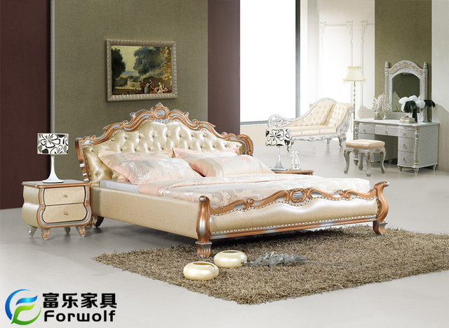 leather bed TBJ-179B