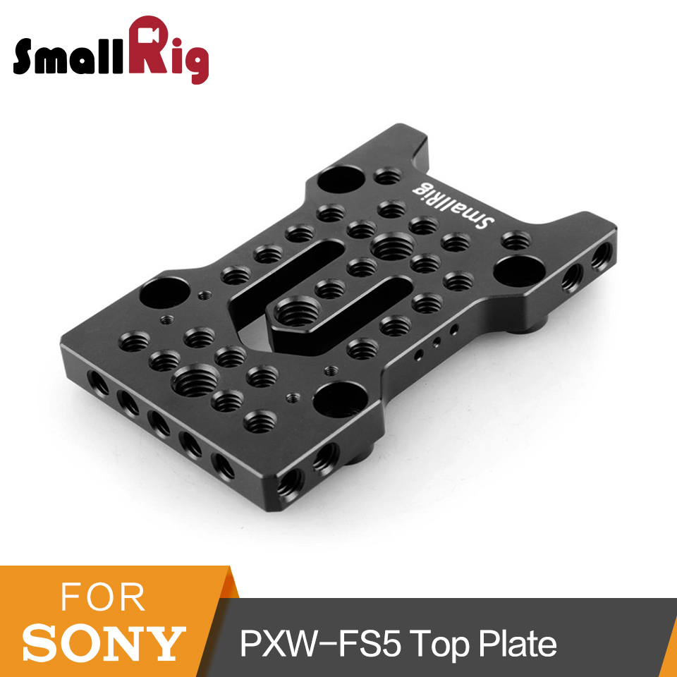 SmallRig Quick Release Plate For FS5 Top Cheese Mounting Plate for Sony PXW-FS5 Dslr Camera Mounting Plate  - 1852 SmallRig Quick Release Plate For FS5 Top Cheese Mounting Plate for Sony PXW-FS5 Dslr Camera Mounting Plate  - 1852