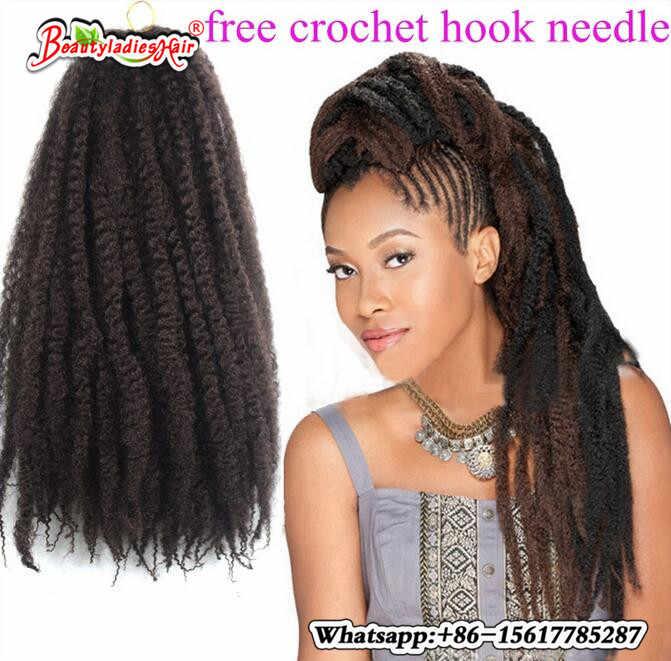 Novo afro kinky torção trança encaracolado freetress extensões de cabelo sintético a granel marley trança sintético borgonha cabelo cosplays