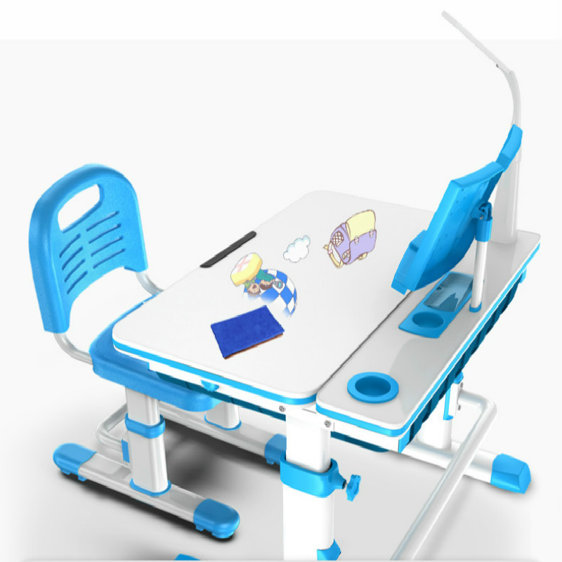 Muebles De Madera Pupils Writing Desk and Chair Combination Set Baby Workbench Kids Furniture Mesa Infantil Children Furniture