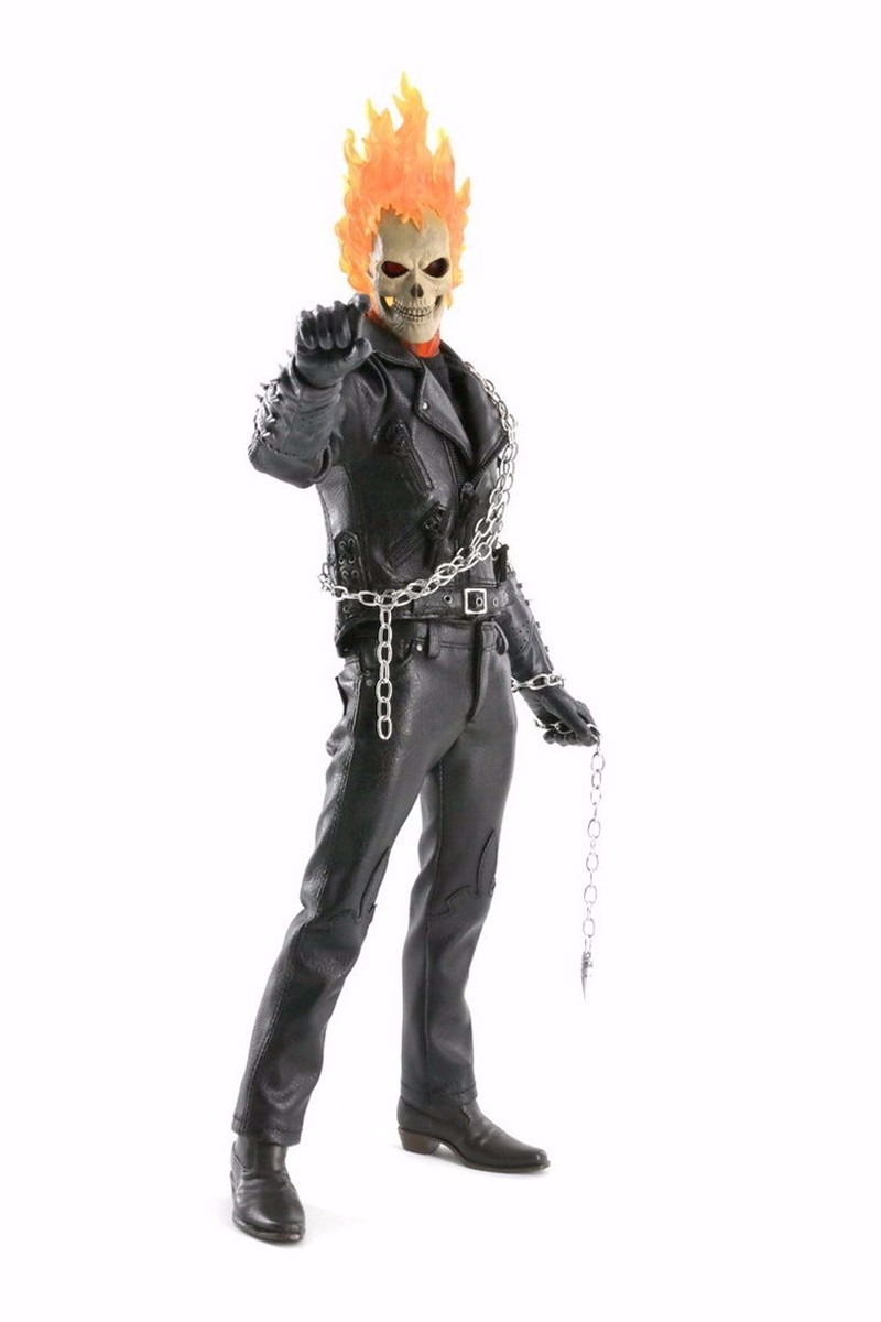 Marvel Ghost Rider 23cm BJD PVC Figure Model Toys