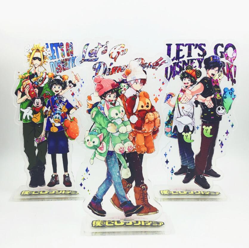 My Hero Academia Izuku Midoriya Todoroki Shoto Bakugou acrylic stand figure toy