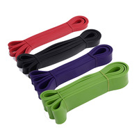 Natural Latex Athletic Rubber Resistance Bands set Gym Expander Crossfit Power Lifting Pull Up Strengthen Muscles