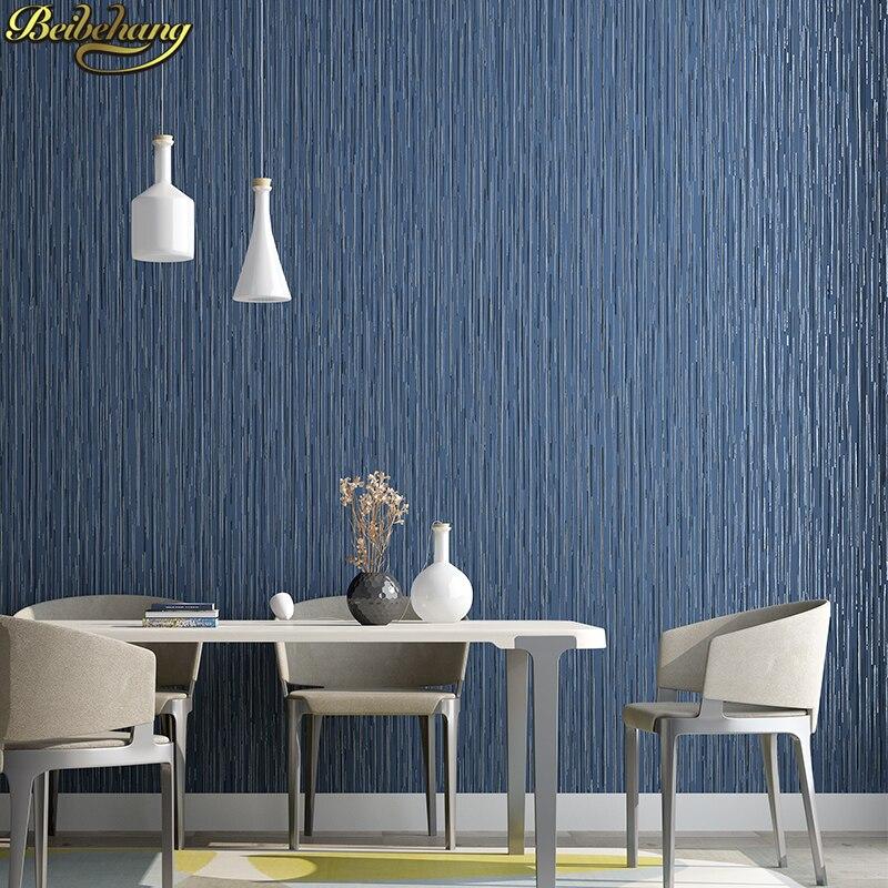 beibehang Wallpaper bedroom Distinctive Home Decoration wall paper rolls Pattern Flocking Classic papel de parede 3D wallpaper