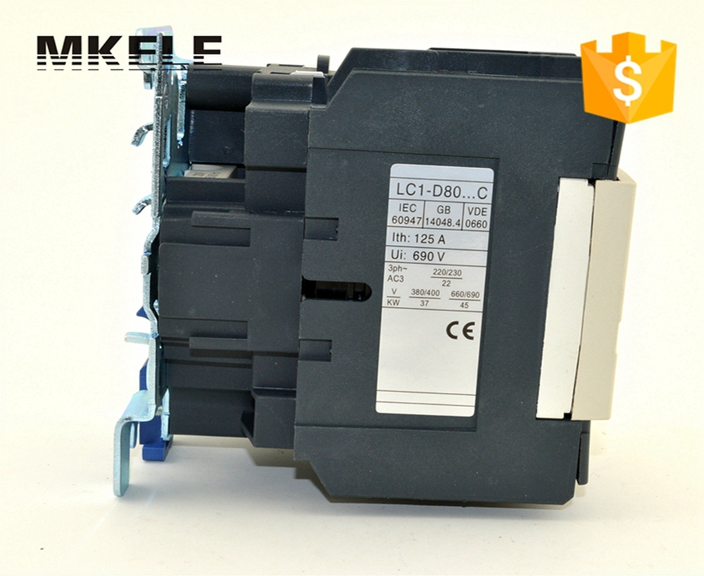 80 amp LC1-D80 M7C electromagnetic contactor 220V single phase contactor price with 85% silver contacts with high quality крем bioline jato acid cream ph balancing 50 мл