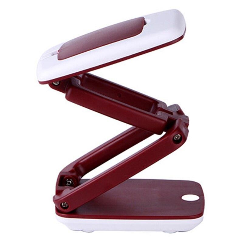 HUANJUNSHI Foldable Desktop 3X Magnifier LED Compact Desk Lamp Lighting Loupe Multifunction Magnifying Glass For Reading