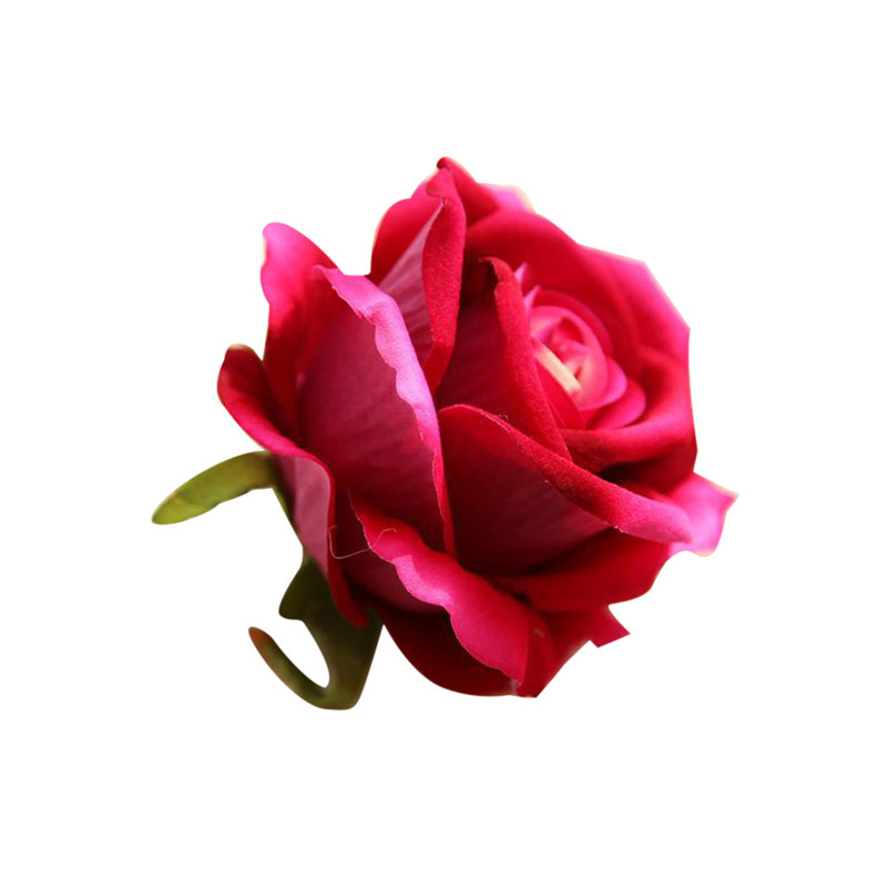 2017 hot sale on 5 Head Latex Touch Rose Flowers For wedding Party Home Design Bouquet Decor wholesale M30