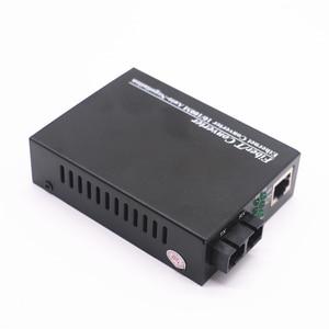 Image 3 - Convertidor de medios ópticos de fibra 10/100Mbps, fibra dúplex multimodo Wavelenth 850nm 2km RJ45 a conector SC