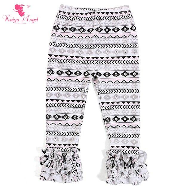 26da58988 Kaiya New Girls Clothes Ruffle Pants Spring Leggings Wholesale Baby  Boutique Clothing Girls Icing Pants Ruffle Pants Leggings