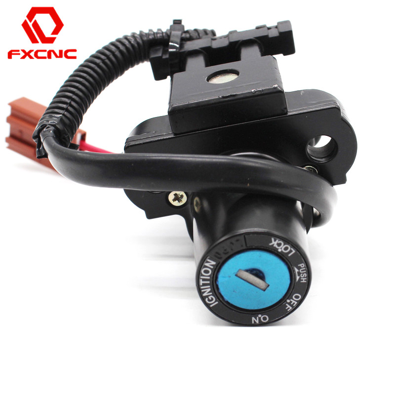CNC Motorcycle Ignition Switch Keys With Wire For Honda CBR600RR CBR 600RR CBR 600 RR 2007 2013 CBR1000RR CBR 100 RR 2004 2012
