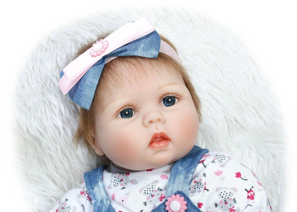 Bebé vivo lol muñeca de silicona bebé renacido brinquedo boneca - Muñecas y accesorios - foto 3