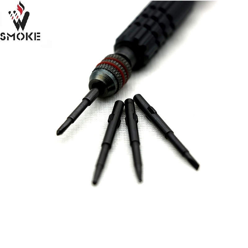 VIVISMOKE 4-in-1 Multifunction  Screwdrivers Set for DIY vape Tools  RDA/ RTA atomizer handle tool