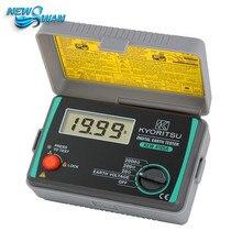 4105A цифровой измеритель сопротивления земли с чемоданом 4105AH