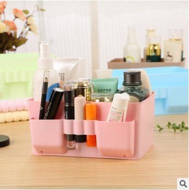 Multi cosmétiques cosmétiques boîte de rangement, petit bureau débris catégorie, bureau ordinateur télécommande la consolidation du stockage boîte dans Boîtes De Rangement de Maison & Jardin