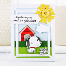 Eastshape Dog House Metal Cutting Dies Animal Scrapbooking for Card Making Decorative Album New Crafts Stencil DIY
