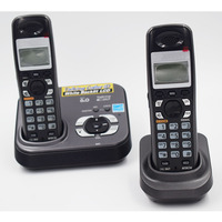 2 PCS Digital Cordless Phone KX TG9331T Home Wireless Base Station Cordless Fixed Telephone For Office
