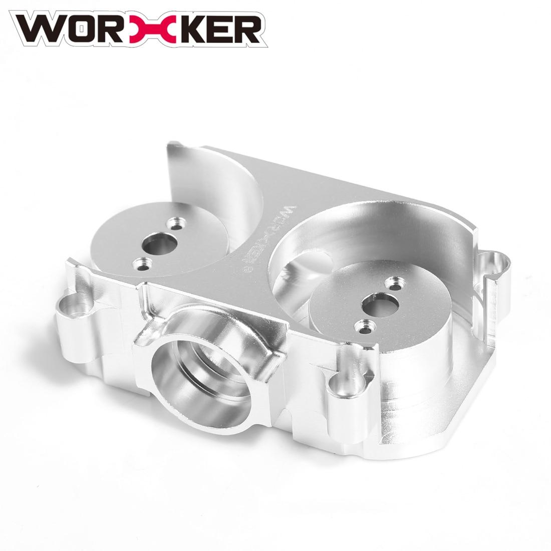 Conjunto Gaiola de Liga de Alumínio Plana Modificado Volante Acessórios Do Brinquedo do trabalhador para Nerf STF/CS-18-Prata