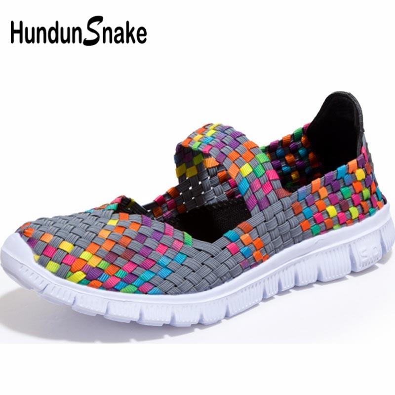 Hundunsnake Breathable Women Running Shoes Woman Sport Sneakers Women's Sports Shoes Women Tennis Shoe Summer Scarpe Donna B-051