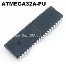 Новые оригинальные 10 шт./лот ATMEGA32A PU ATMEGA32A ATMEGA32 DIP 40 есть в наличии!