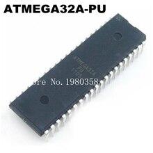 Nouveau original 10 pièces/lots ATMEGA32A PU ATMEGA32A ATMEGA32 DIP 40 ont des actions!
