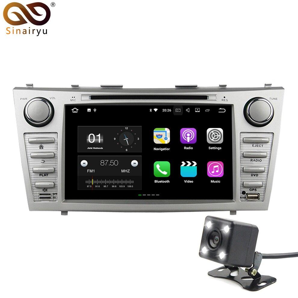 Sinairyu Cortex-A53 Android 7.1 автомобиль DVD GPS Радио для Toyota Camry 2007-2014 IPS 4 г Wi-Fi навигации мультимедиа головное устройство