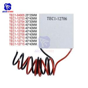 Image 1 - TEC1 12703 TEC1 12704 TEC1 12705 TEC1 12706 TEC1 12710 TEC1 127015 Heat Sink Thermoelectric Cooler Cooling Pad Peltier Plate