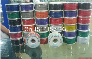 Серый, белый, фиолетовый, красный, зеленый, синий, желтый, черный гибкий PCB припой медный Шнур кабель 30AWG оберточная проволока 305 м P/N B-30-1000