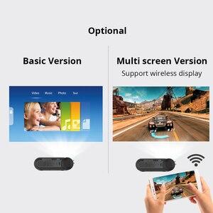 Проектор BYINTEK K9, 720P 1080P светодиодный портативный мини-проектор для домашнего кинотеатра (опция мультиэкранный для смартфона и планшета)